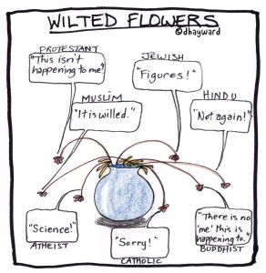 Wilted-flowers